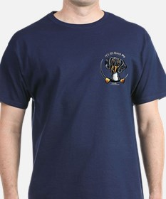 Dapple Doxie IAAM Pocket T-Shirt