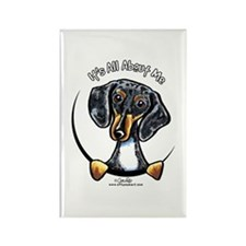 Dapple Dachshund IAAM Rectangle Magnet