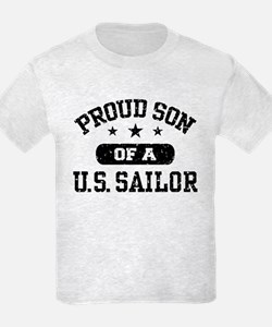 Proud Son of a US Sailor T-Shirt