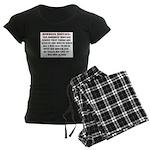 Hormone Hostage Women's Dark Pajamas
