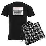 Hormone Hostage Men's Dark Pajamas