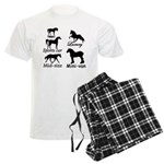 Horse Cars Men's Light Pajamas