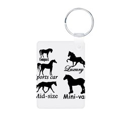 Horse Cars Keychains