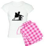 barrel racing silhouette Women's Light Pajamas