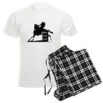 barrel racing silhouette Men's Light Pajamas