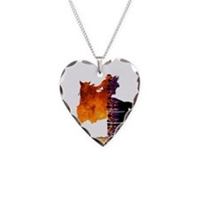 Turn 'n Burn Necklace Heart Charm
