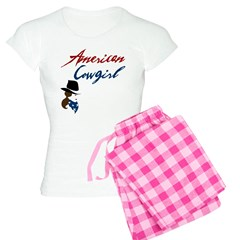 USA Cowgirl Pajamas