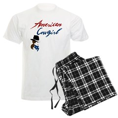 USA Cowgirl Pajamas