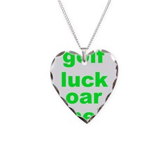 golf luck Necklace