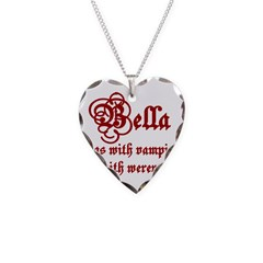 Bella runs Necklace