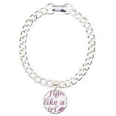 Fight like a girl Bracelet