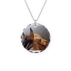 Bonnie Necklace Circle Charm