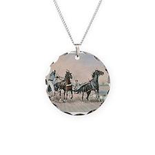 Unique Horse sports Necklace