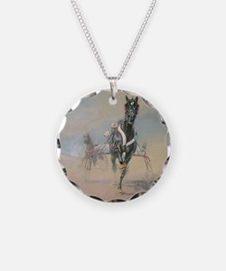 Cute Race horses Necklace
