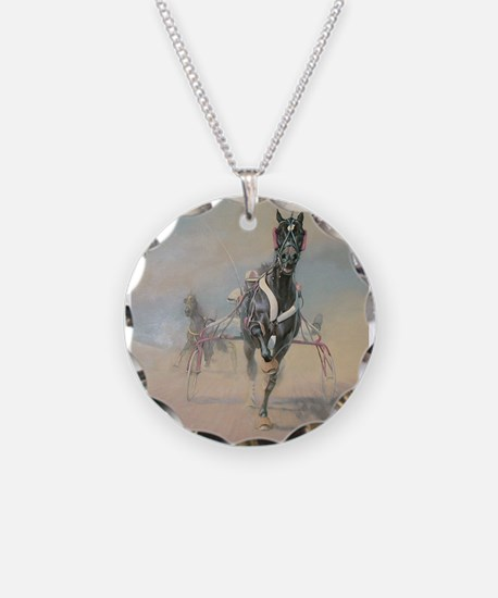 Funny Harness horses Necklace