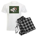 Sleeping foal Men's Light Pajamas