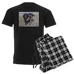 Paints and Pintos Men's Dark Pajamas