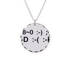 More Smilies Necklace