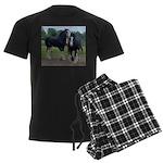 Horse Men's Dark Pajamas