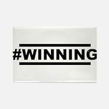 #WINNING Rectangle Magnet