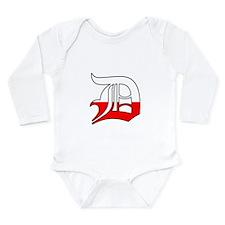 Detroit Polish D Long Sleeve Infant Bodysuit