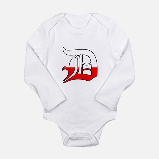 Detroit Polish D Long Sleeve Infant Bodysuit