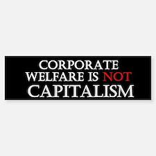Corporate Welfare Car Car Sticker