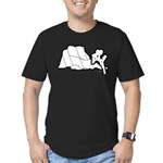 Jtree and Intersection Rock Men's Fitted T-Shirt (