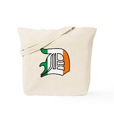 Detroit Irish D Tote Bag