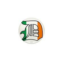 Detroit Irish D Mini Button (10 pack)