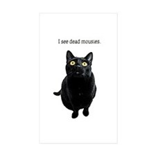 I See Dead Mousies Sticker (Rectangle 10 Pk)