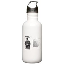 What Would Churchill Do - Nev Water Bottle