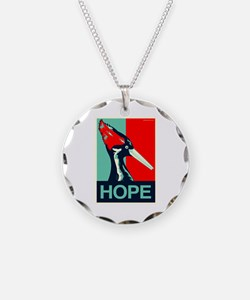 Ivory-Billed Woodpecker Necklace