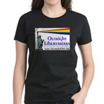 Outright Libertarians Women's Dark T-Shirt