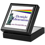 Outright Libertarians Keepsake Box
