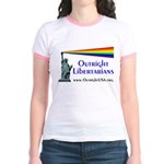 Outright Libertarians Jr. Ringer T-Shirt