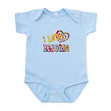 I Love Reading Infant Bodysuit