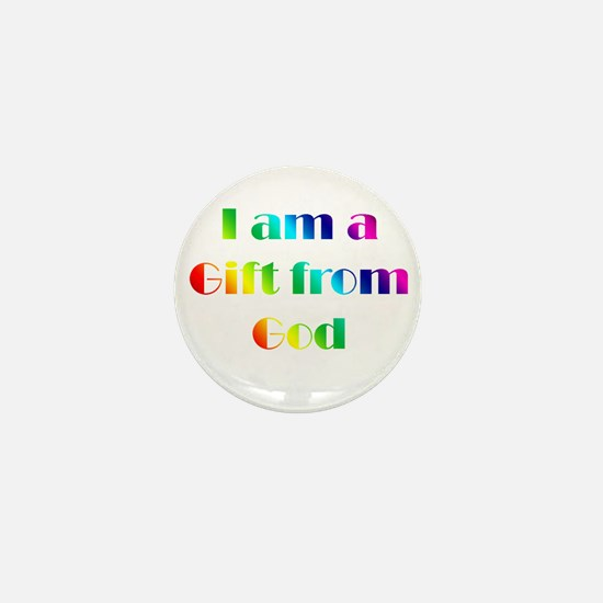 I Am a Gift from God Mini Button (10 pack)