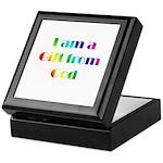 I Am a Gift from God Keepsake Box
