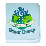 Great Cloth Diaper Change baby blanket