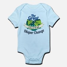 Great Cloth Diaper Change Infant Bodysuit