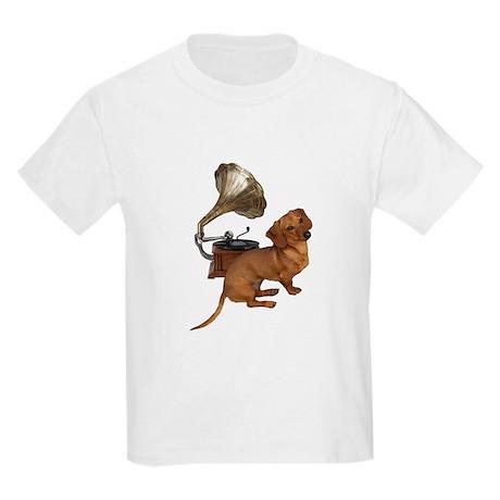 Antiques Dauchshunds Dogs Kids T-Shirt