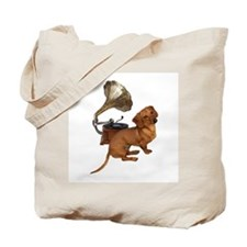 Antiques Dauchshunds Dogs Tote Bag