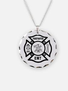 Firefighter EMT Necklace