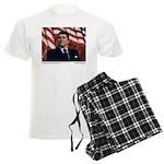 Reagan on Liberal Friends Men's Light Pajamas