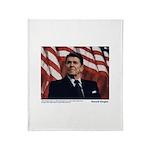 Reagan on Liberal Friends Throw Blanket