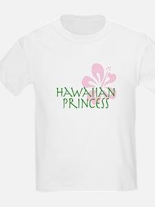 Hawaiian Princess kids t-shirt