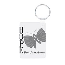 Hope Brain Cancer Keychains