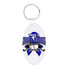 Take a Strike Colon Cancer Keychains