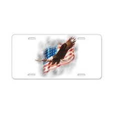 Faded Glory Aluminum License Plate